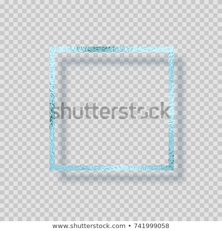 glittering ice frame stock photo © supertrooper