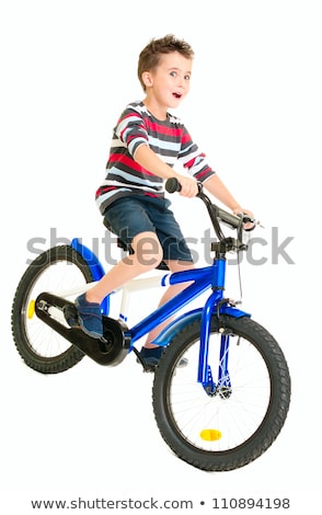 Naughty little boy in shorts and shirt Stock photo © pekour