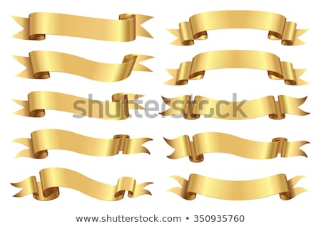 ribbons scrolls stock photo © rtguest