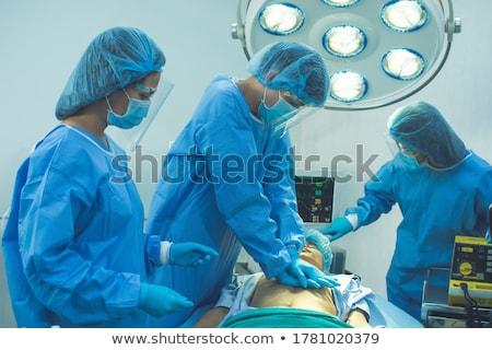 医師 除細動器 患者 緊急 ストックフォト © wavebreak_media