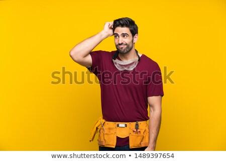 craftsman thinking Stock photo © photography33