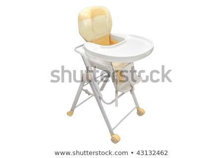 high chair under the white background Stock photo © ozaiachin