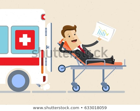 Médicaux accident assurance humaine enfant genou Photo stock © Lightsource