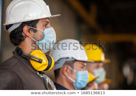 Construction worker stock photo © elenaphoto