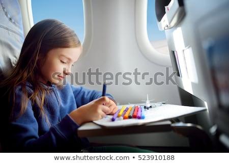 child with plane Stock photo © Paha_L