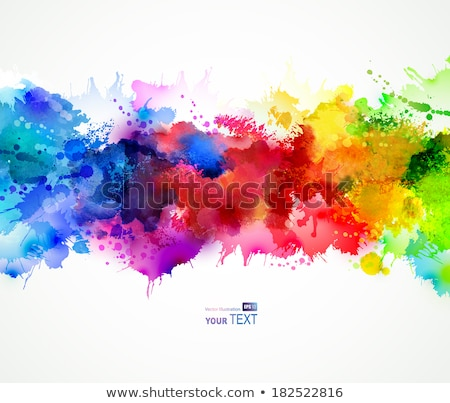 塗料 · スプラッシュ · フレーム · サークル · デザイン · 要素 - ストックフォト © arenacreative