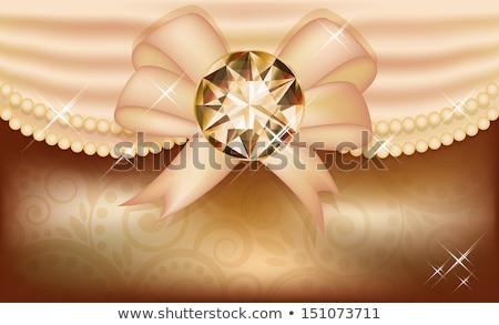 ősz meghívó értékes drágakő naptár ajándék Stock fotó © carodi