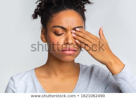 eye infection stock photo © lightsource