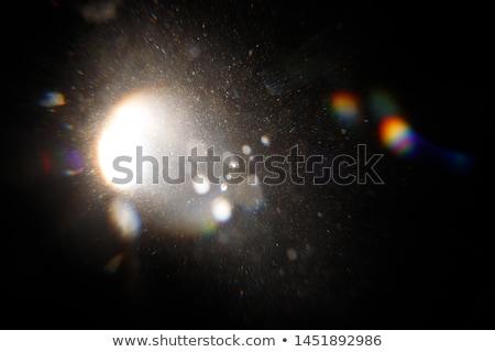 Halo effect hemel atmosferisch fenomeen Stockfoto © BrunoWeltmann