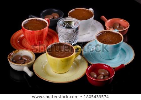 Colorido tradicional turco diferente vermelho doce Foto stock © Kuzeytac