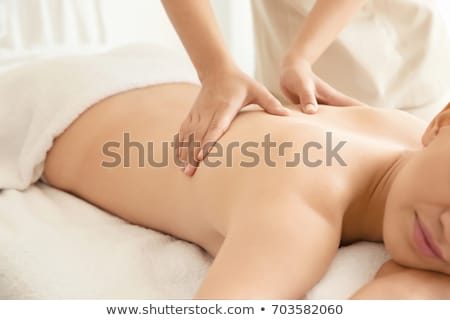 Back massage stock photo © ldambies