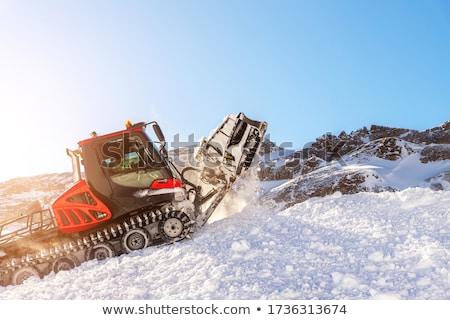 赤 オーストリア アルプス山脈 雪 冬 ストックフォト © CaptureLight