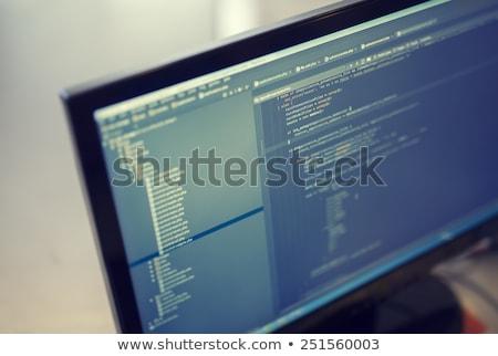Assembler source code Stock photo © ShawnHempel