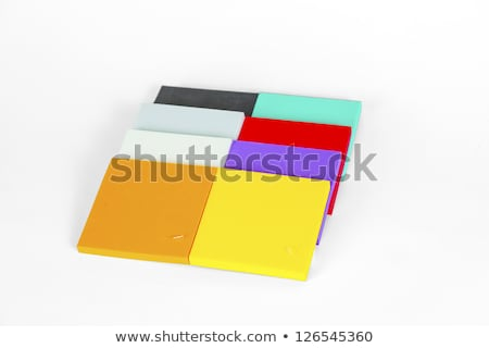 polystyrene forms in different colors and sizes Stock photo © meinzahn