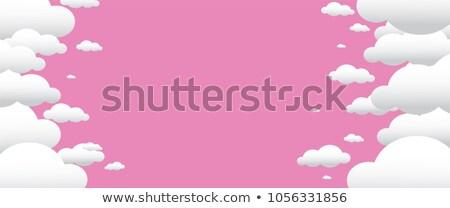 Felhőkép üres hely kék ég égbolt felhők természet Stock fotó © badmanproduction