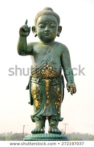 bebê · buda · estátua · Bangkok · Tailândia · ouro - foto stock © thanarat27