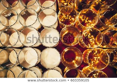 различный · напитки · стекла · фото · пить · кристалл - Сток-фото © junpinzon