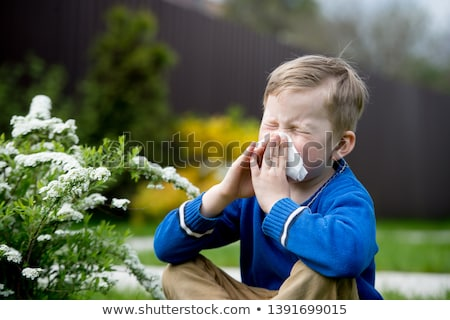 Hay Fever Stock photo © Lightsource