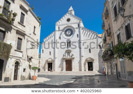 Bari Cathedral in Italy Stock photo © aladin66