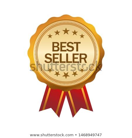 En İyi seçim etiket yalıtılmış beyaz afiş seçim Stok fotoğraf © WaD