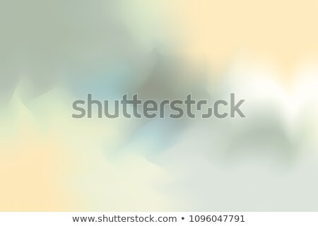 watercolor painting white blue green gradient stock photo © amok