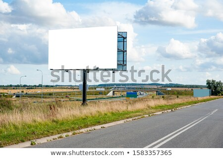 contenu · marketing · autoroute · panneau · route · fond - photo stock © tashatuvango