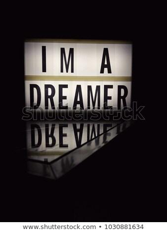 I'm a dreamer Stock photo © Quasarphoto