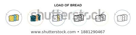 Caricare pane pane francese messa a fuoco selettiva nessuno Foto d'archivio © gemenacom
