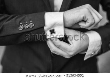 Closeup photo of the elegant couple Stock photo © majdansky