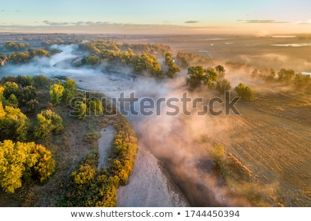 aerial view of South Platte River Stock photo © PixelsAway