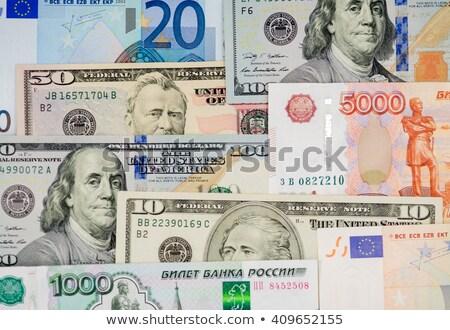 ドル ロシア 紙 金融 現金 ドル ストックフォト © Valeriy