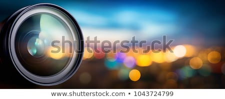 レンズ アパーチャ 例 2 写真 フレーム ストックフォト © m_pavlov