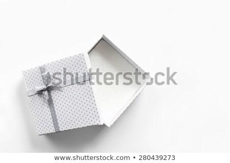 驚き ギフトボックス ファブリック 紙 パーティ 木材 ストックフォト © vlaru