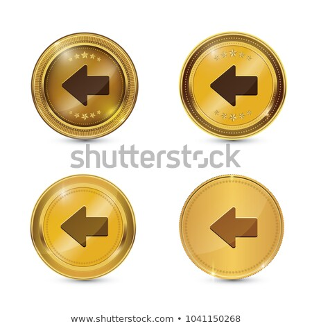 Chave vetor ouro ícone web botão Foto stock © rizwanali3d