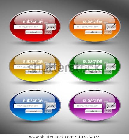 Search Circular Purple Vector Web Button Icon Stock photo © rizwanali3d