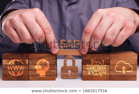 Apps Word Shows Application Software And Internet Stock photo © stuartmiles