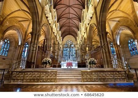 St Mary's Cathedral Interior, Sydney Australia  stock photo © mroz