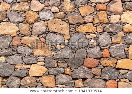 öreg természetes barna fal munka kastély Stock fotó © elxeneize