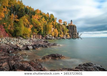 split rock stock photo © hofmeester