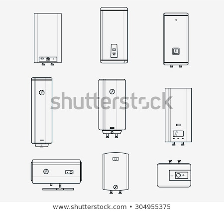 Boiler liner icons Stock photo © Yuriy