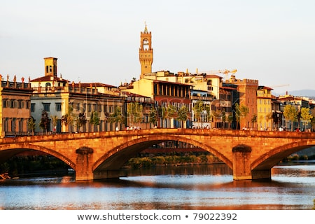 bell tower of cathedral church florence italy stock photo © neirfy