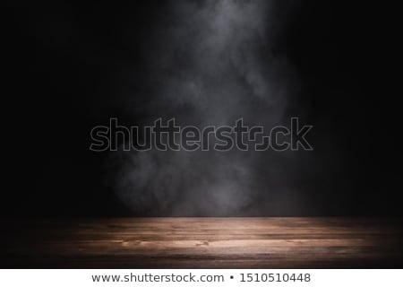üres fa asztal tenger égbolt nap természet Stock fotó © fuzzbones0