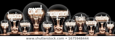 bulb and word deadline stock photo © fuzzbones0