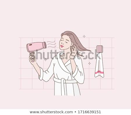 haircare Stock photo © bendzhik