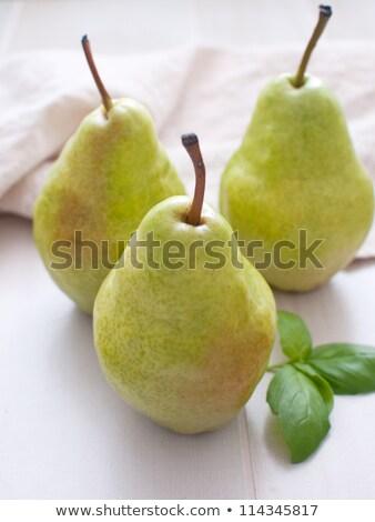 taze · armut · ahşap · masa · olgun · ahşap · meyve - stok fotoğraf © ozgur
