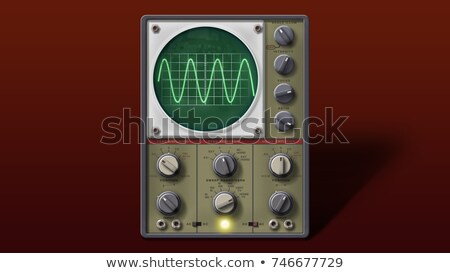 Old oscilloscope, technical equipment Stock photo © michaklootwijk