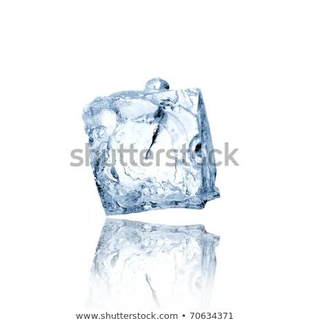 calce · menta · zucchero · cubetto · di · ghiaccio · bianco - foto d'archivio © mady70