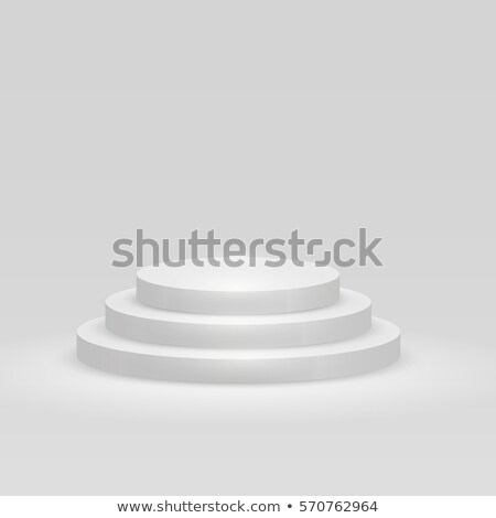 пусто белый шаги подиум вектора шаблон Сток-фото © tuulijumala