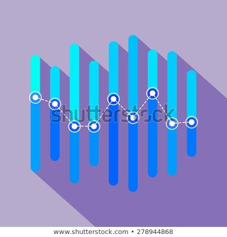 Stockfoto: Infographics · Blauw · bars · hemel · business