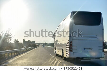 vehicle backlit by rising sun Stock photo © pictureguy